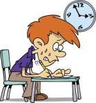 kid stressed exam